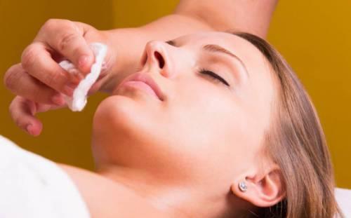 Процедуры в косметическом салоне
