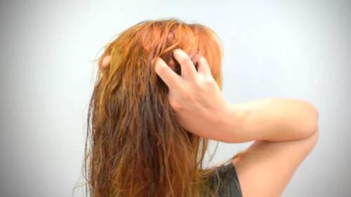Естественное высыхание волос