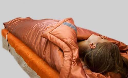Обертывание от целлюлита под теплым одеялом