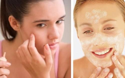 Лечение кожи лица масками