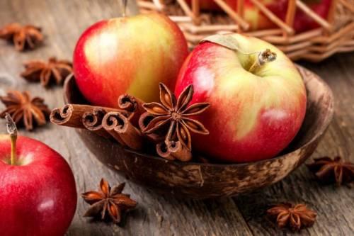 Яблоки и пряности
