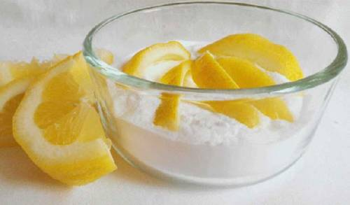 Лимон с содой