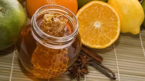 Мед и цитрусовые