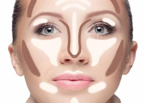 разрисованное лицо