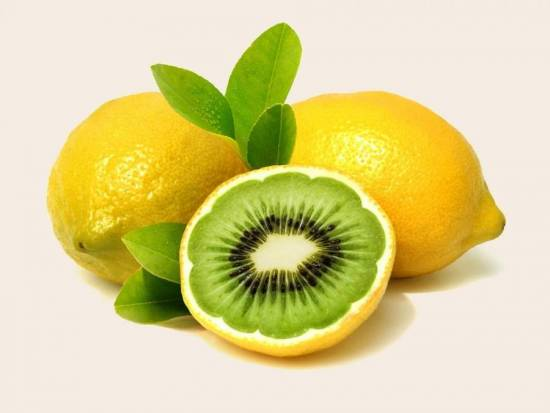 Киви и лимон
