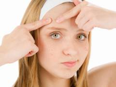 Удаление черных точек на лице