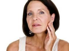 Возрастная кожа на лице