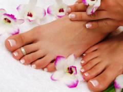Красивые ступни ног