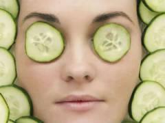 Свежий огурец для кожи лица