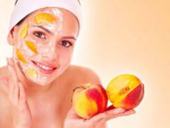 Персики в косметологии