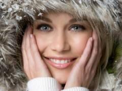 Действие холода на кожу лица