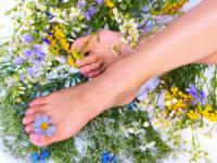 Красивая кожа ног